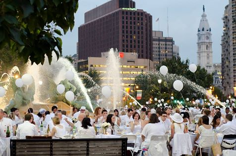 diner en blanc, philadelphia, wait list, pop-up party, montreal, best of philly, philly