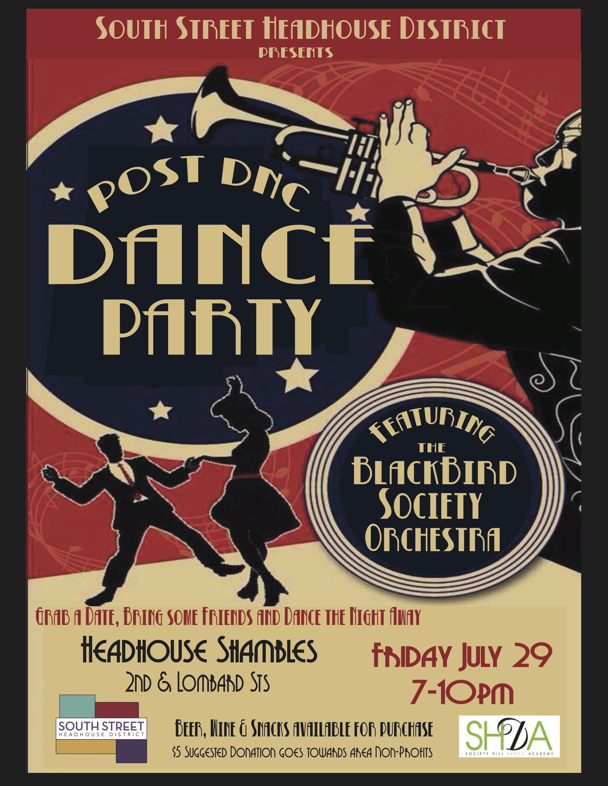 dance party, Democratic National Convention, DNC, Philadelphia, South Street