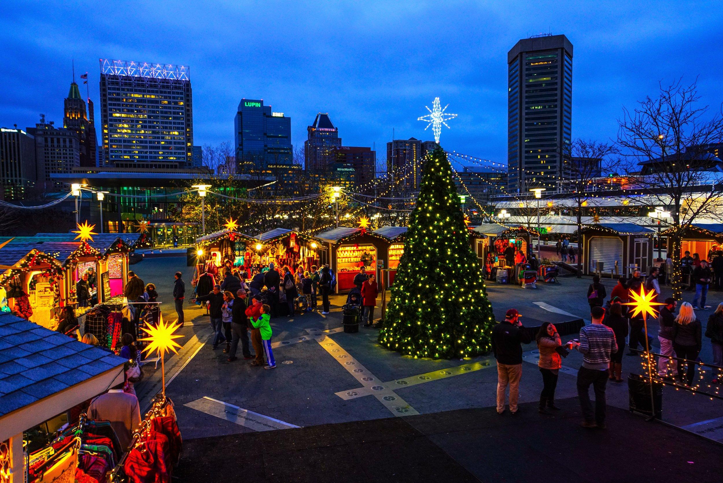 Christmas Village Baltimore, Christmas Village, German Christmas Market