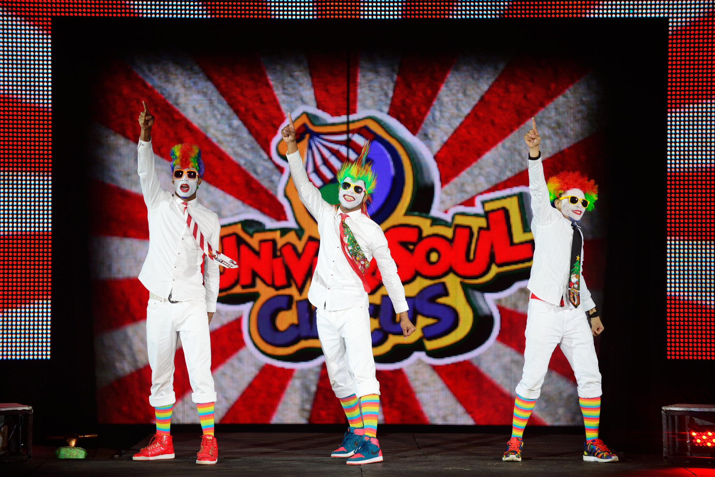 Universoul Circus, Circus Arts, Clowns