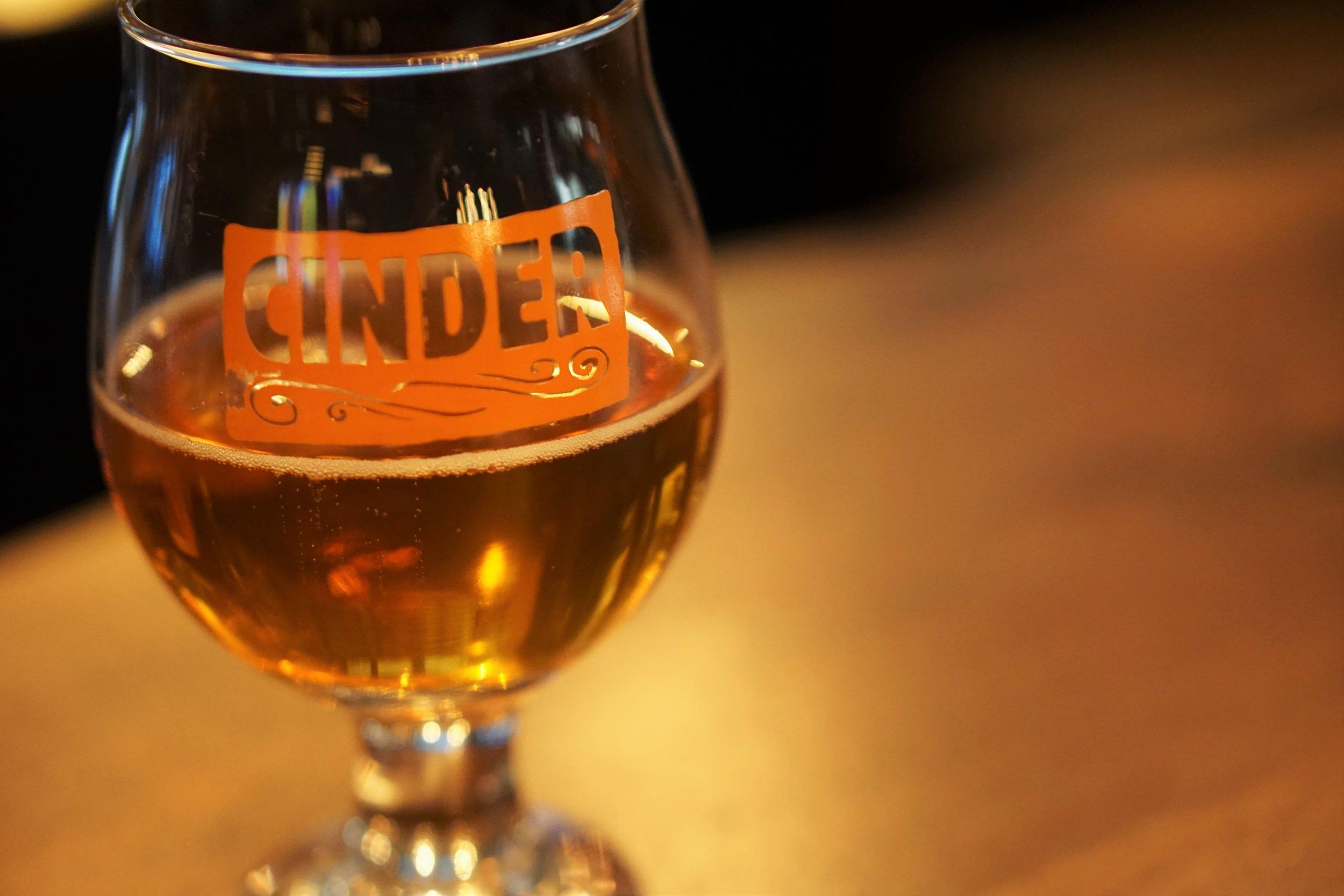 Cinder, opening, cider