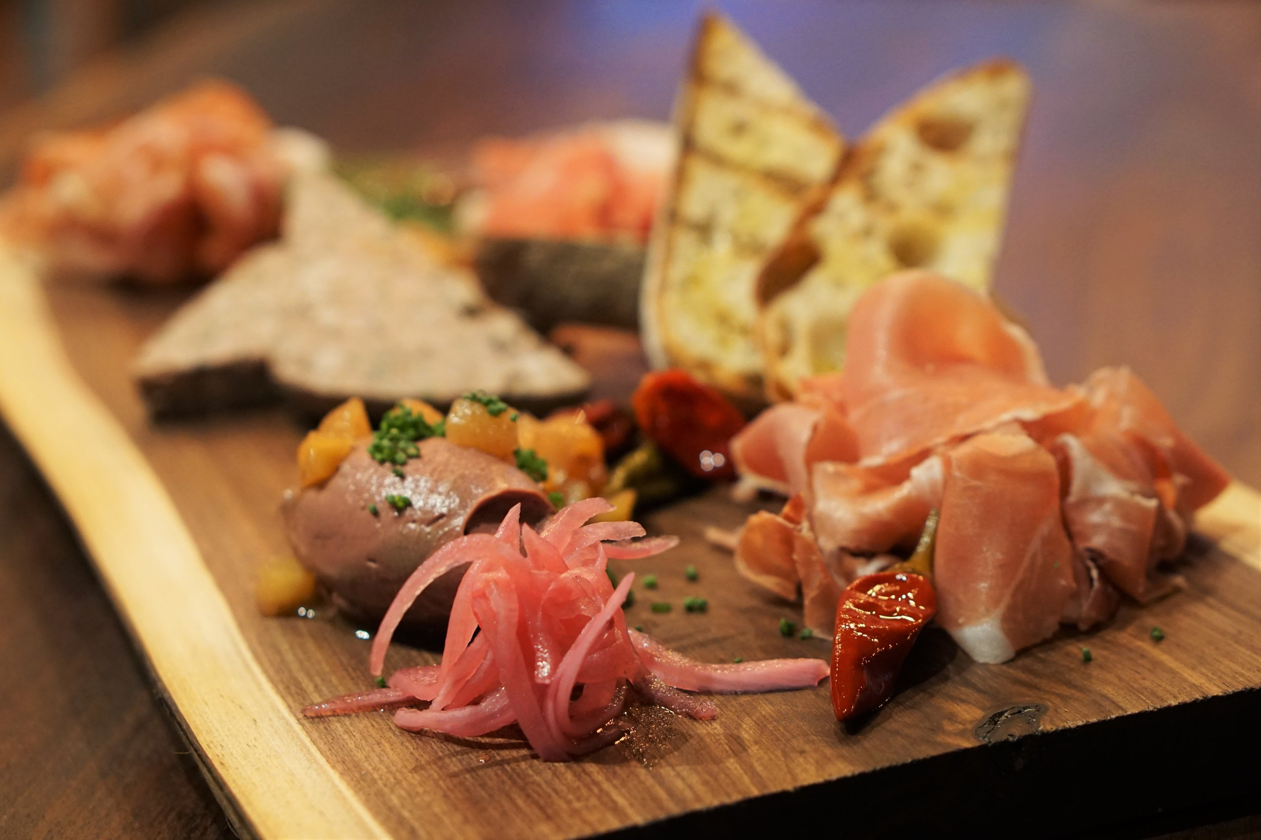 Cinder, Opening, Charcuterie