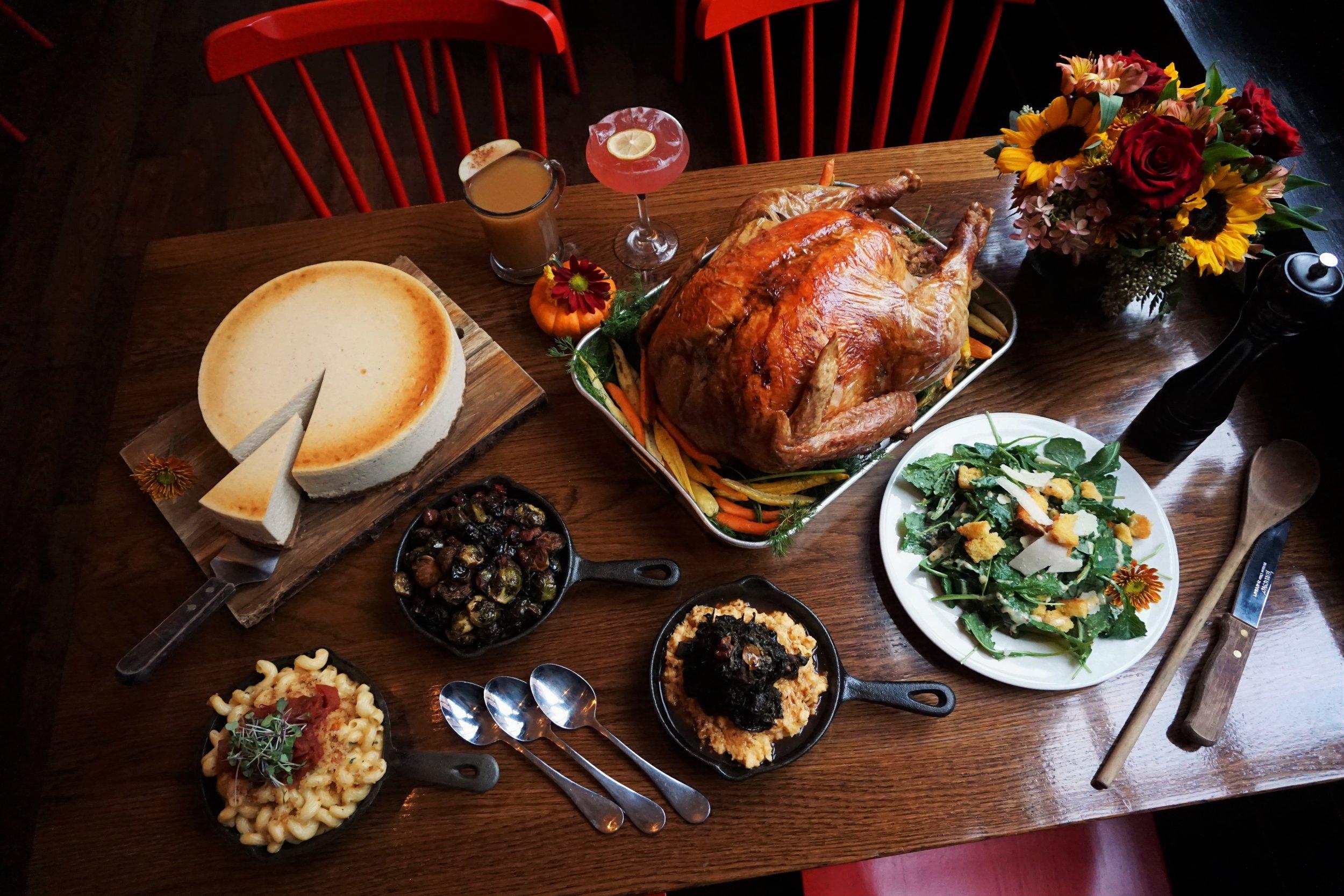 Thanksgiving, Dinner, Little Lion