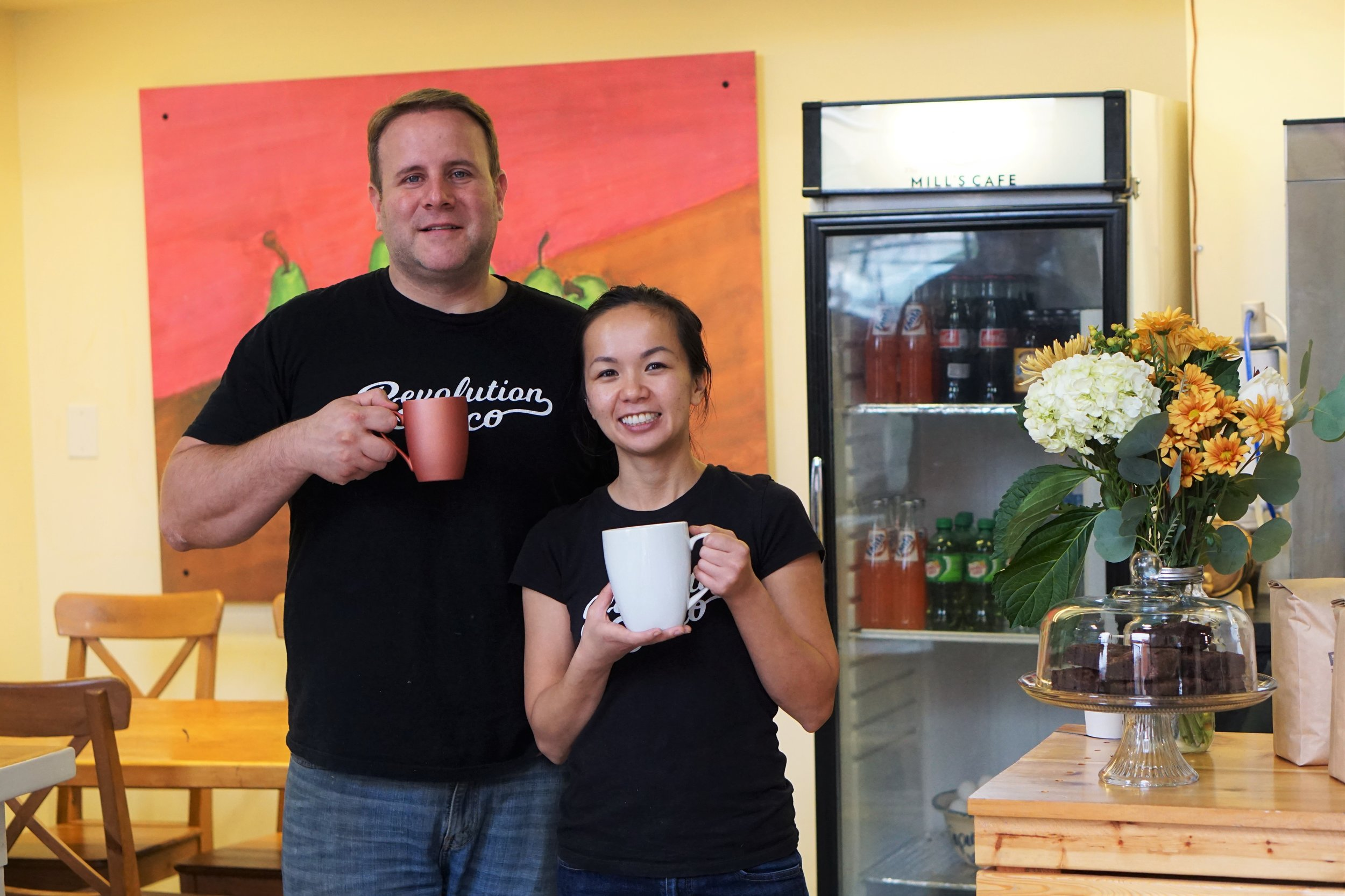 The Mills Cafe, Grand Opening, East Falls, Revolution Taco