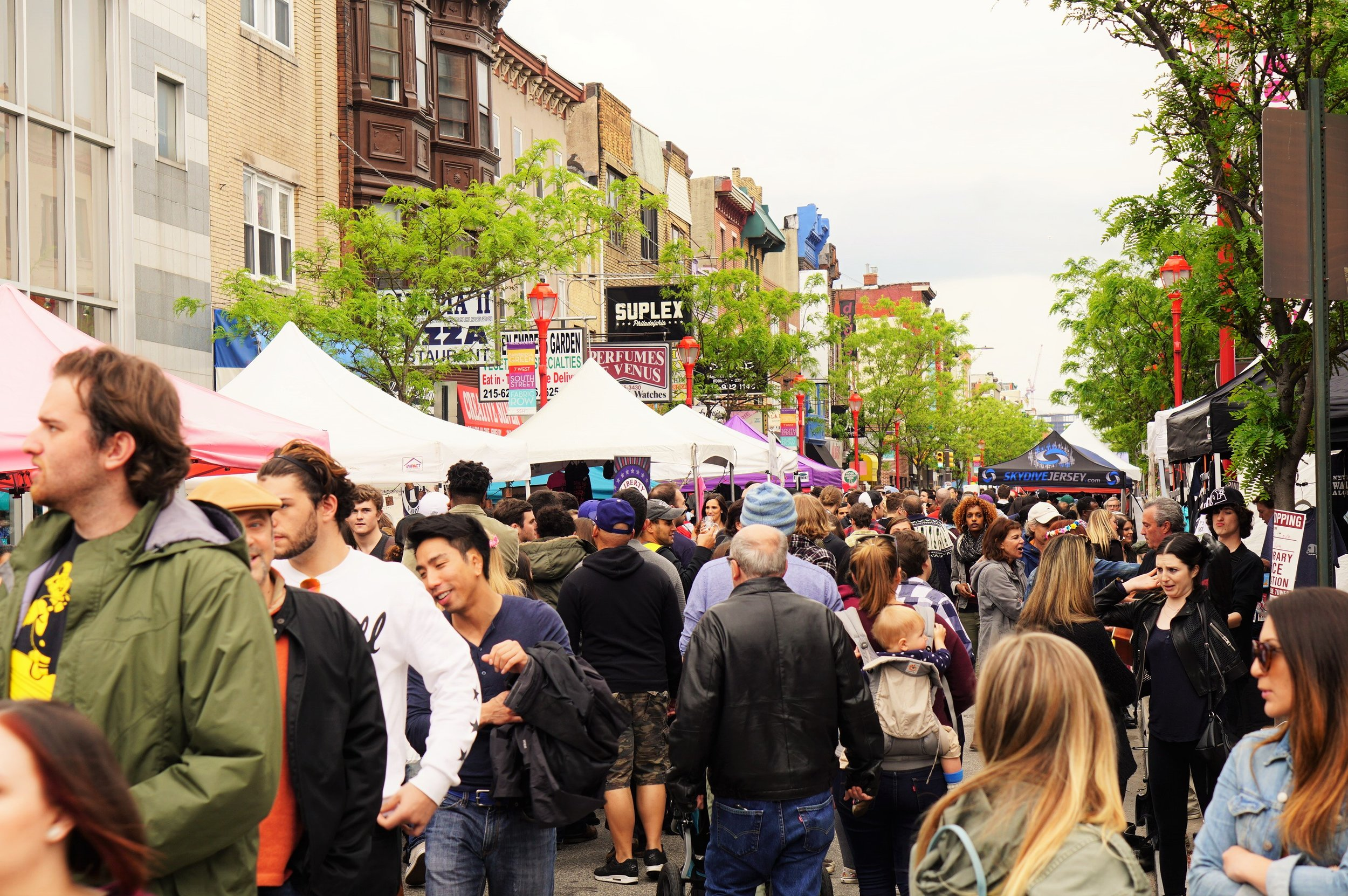 South Street Spring Festival, South Street Headhouse District