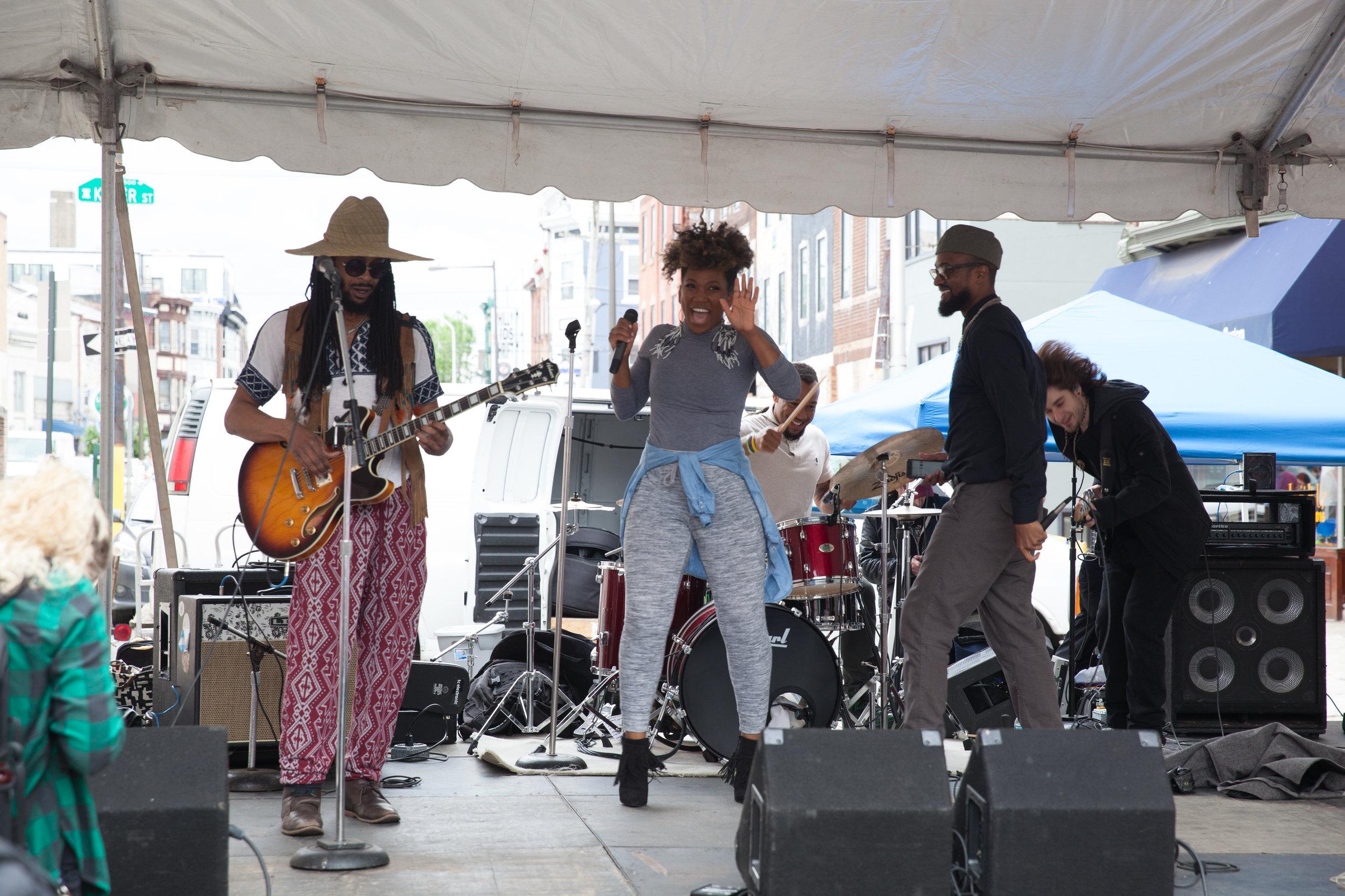 South Street Spring Fest, Johnny Popcorn, Fifth street stage