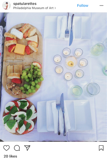This table spread is so flawless, you might even feel bad taking a bite from it!