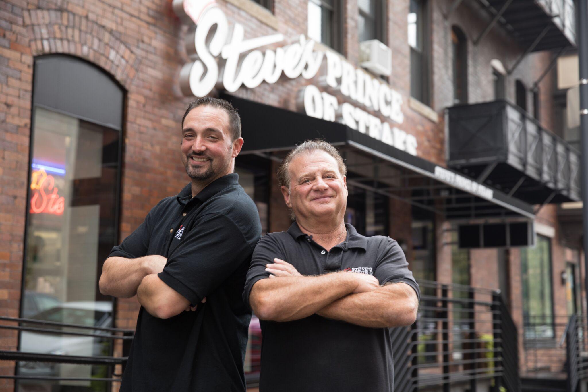 Jason Magowan (left) and Steve Iliescu (right)