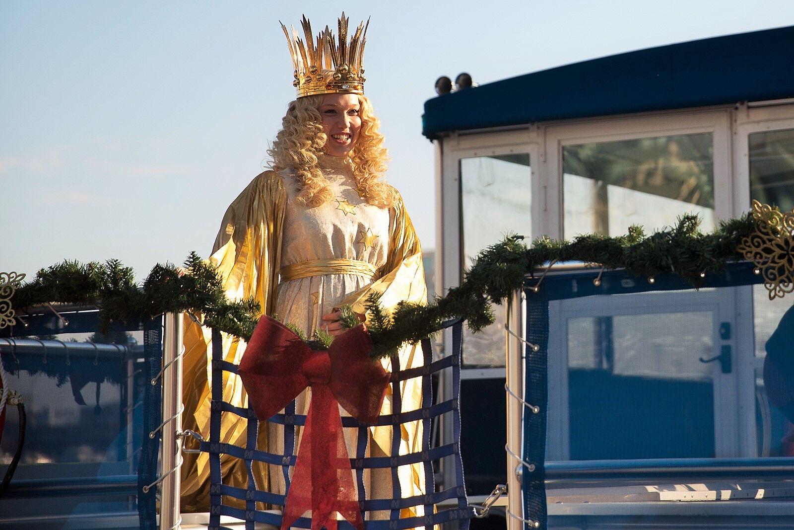 Christkind Opening Christmas Village Baltimore