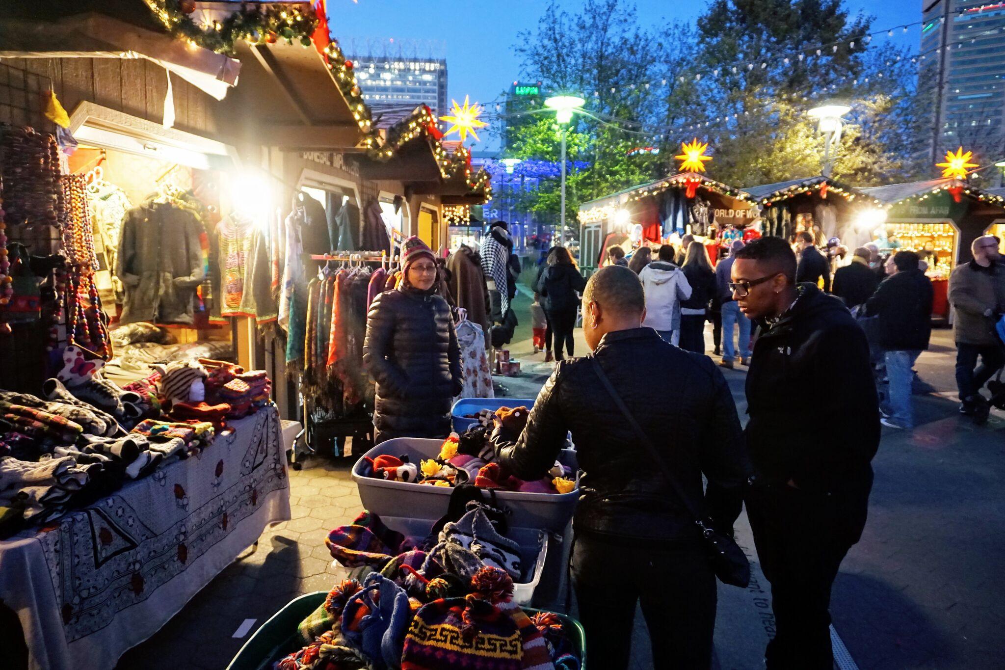 Christmas Village Baltimore Last Minute Shopping
