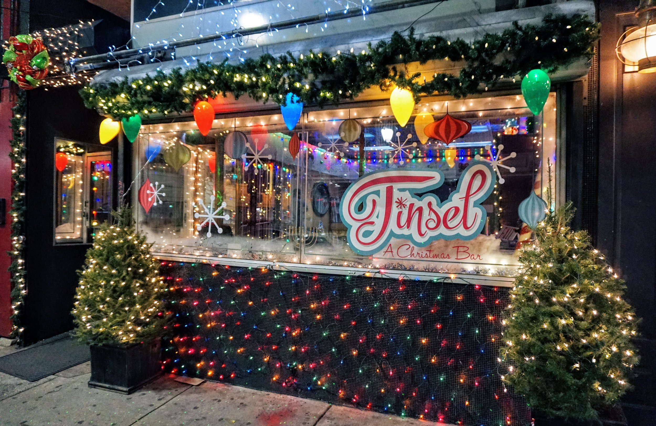 Philadelphia Christmas Bar Tinsel