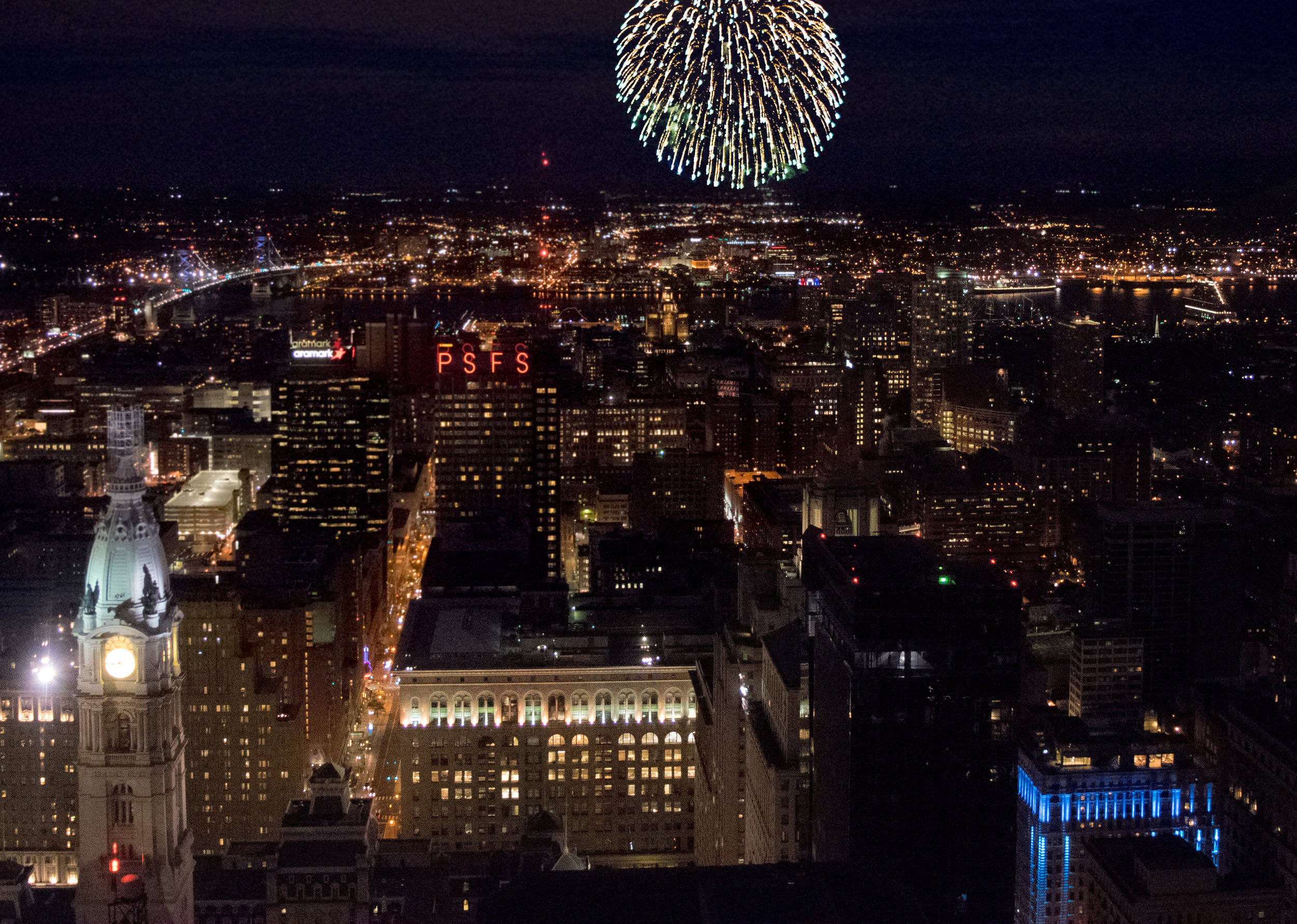 One Liberty Observation Deck NYE Party