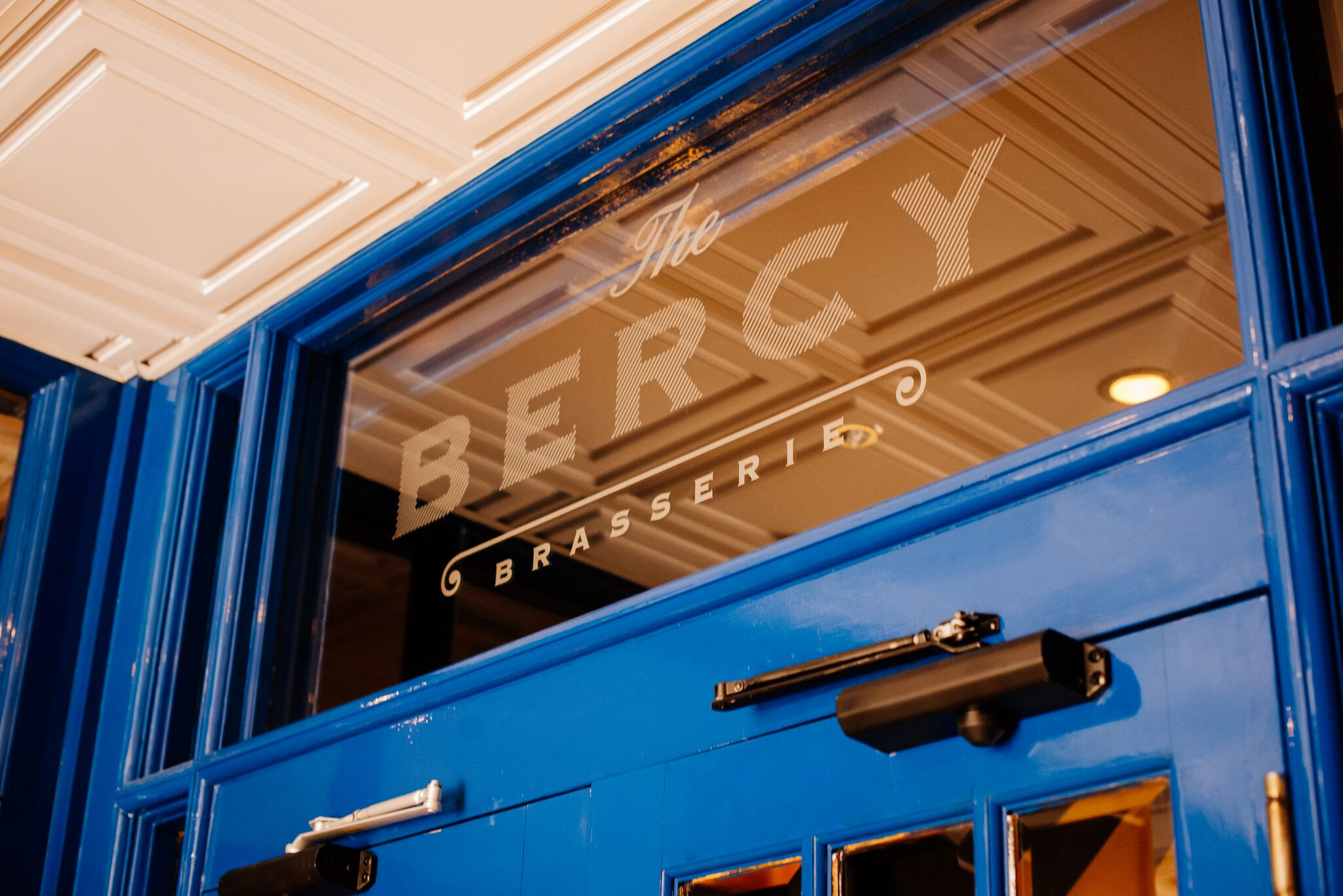 The Bercy Outside Signage