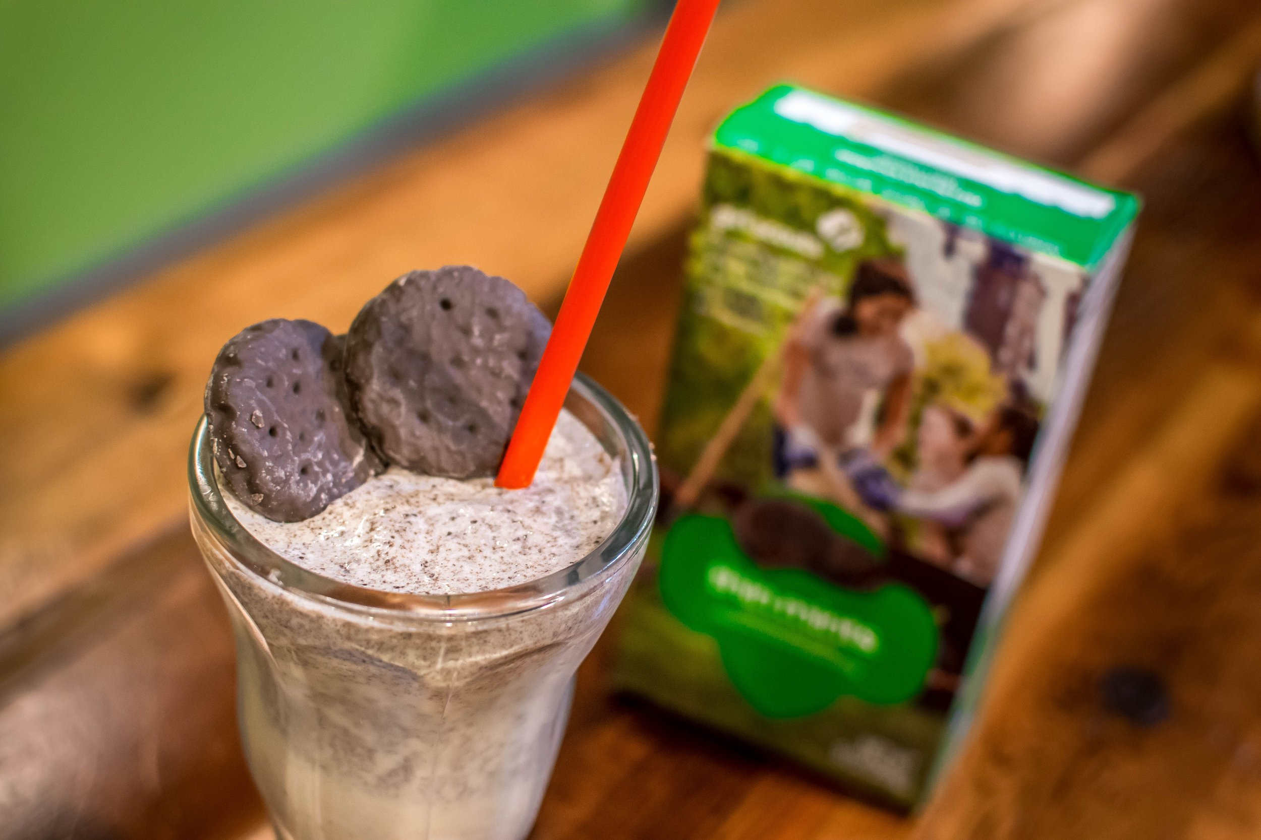 P'unk Burger Girl Scout Cookie Inspired Milkshakes, Thin Mint Cookie