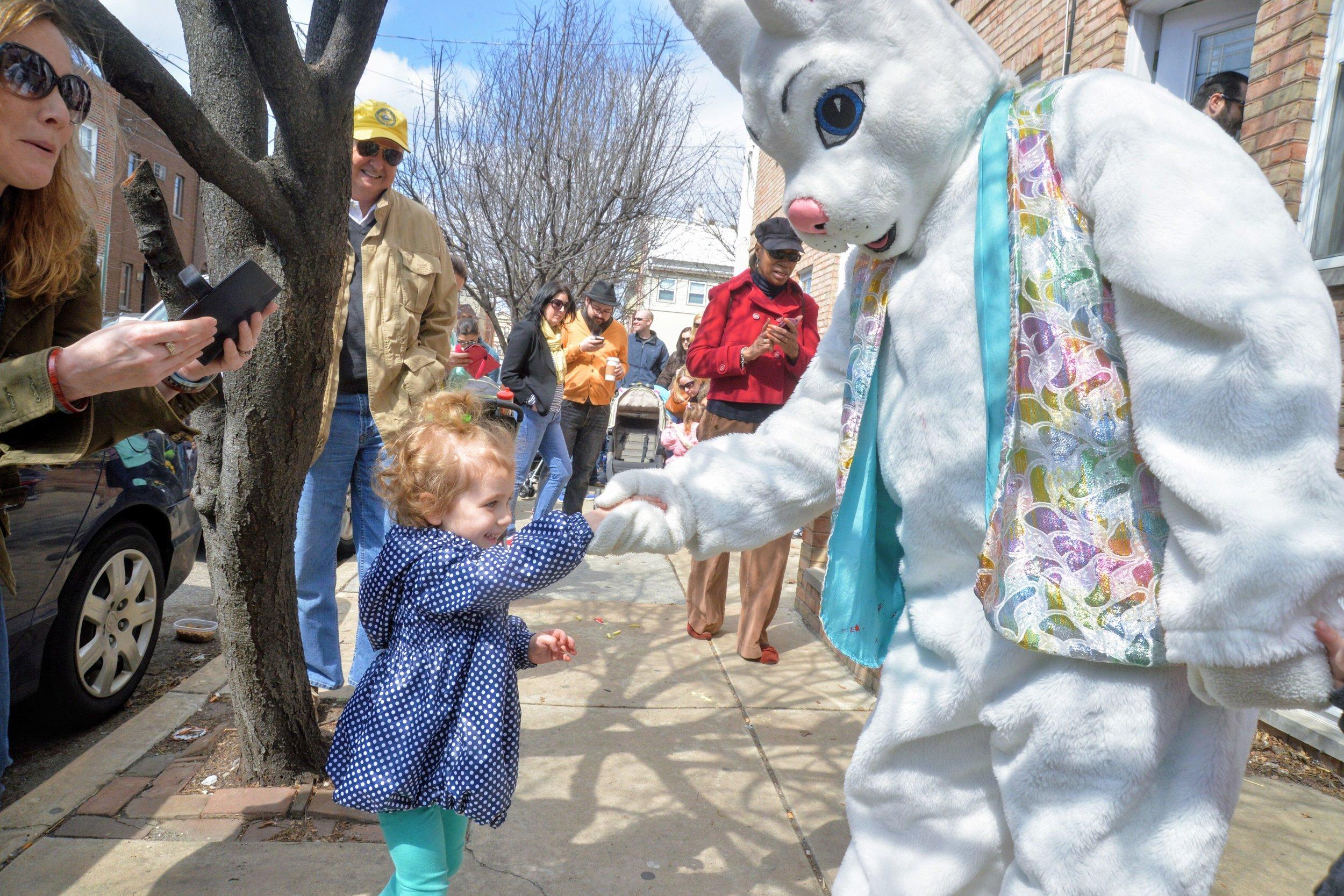 Easter Egg Hunt on East Passyunk