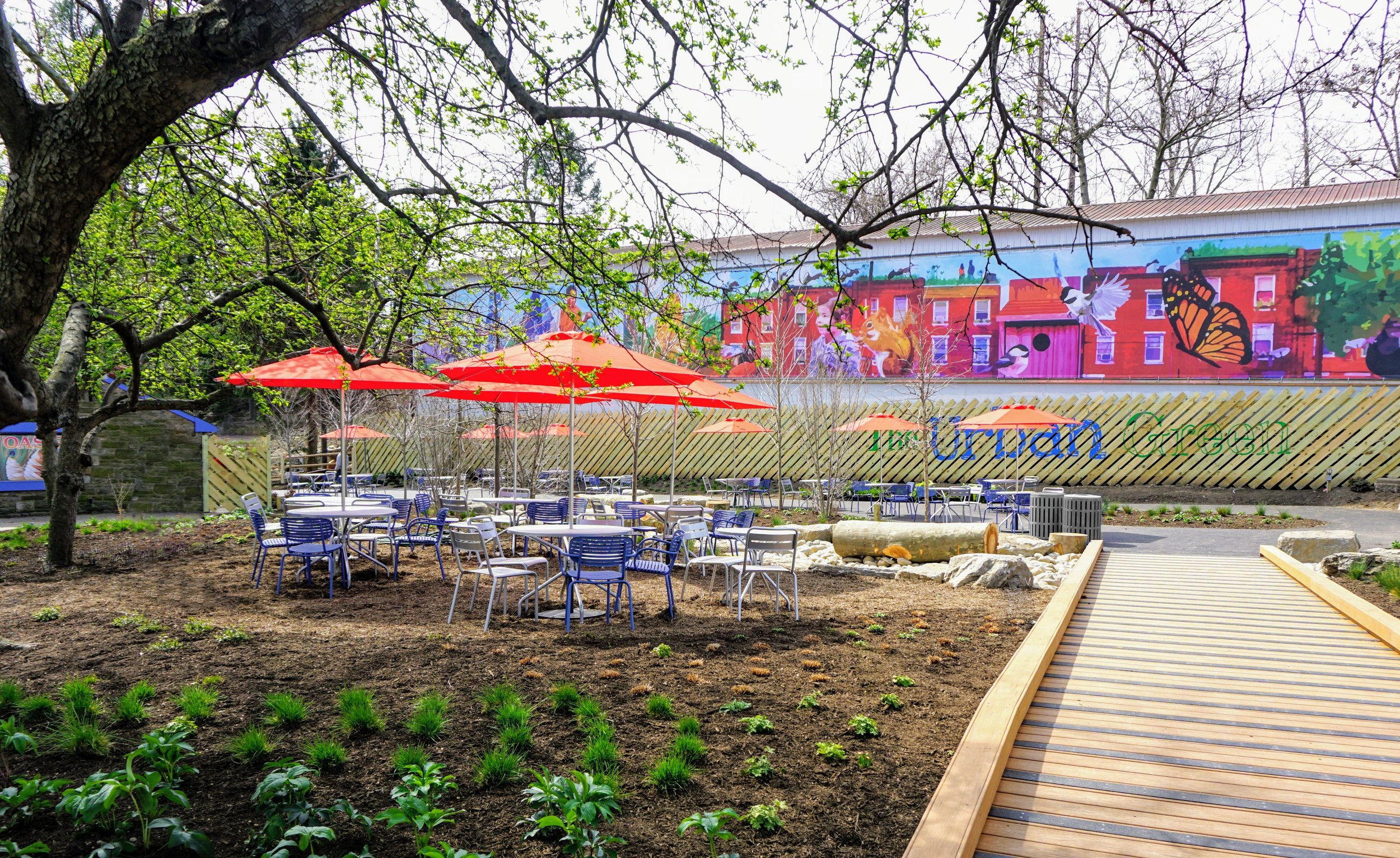 The Urban Green, Philadelphia Zoo's Newest Outdoor Dining Destination