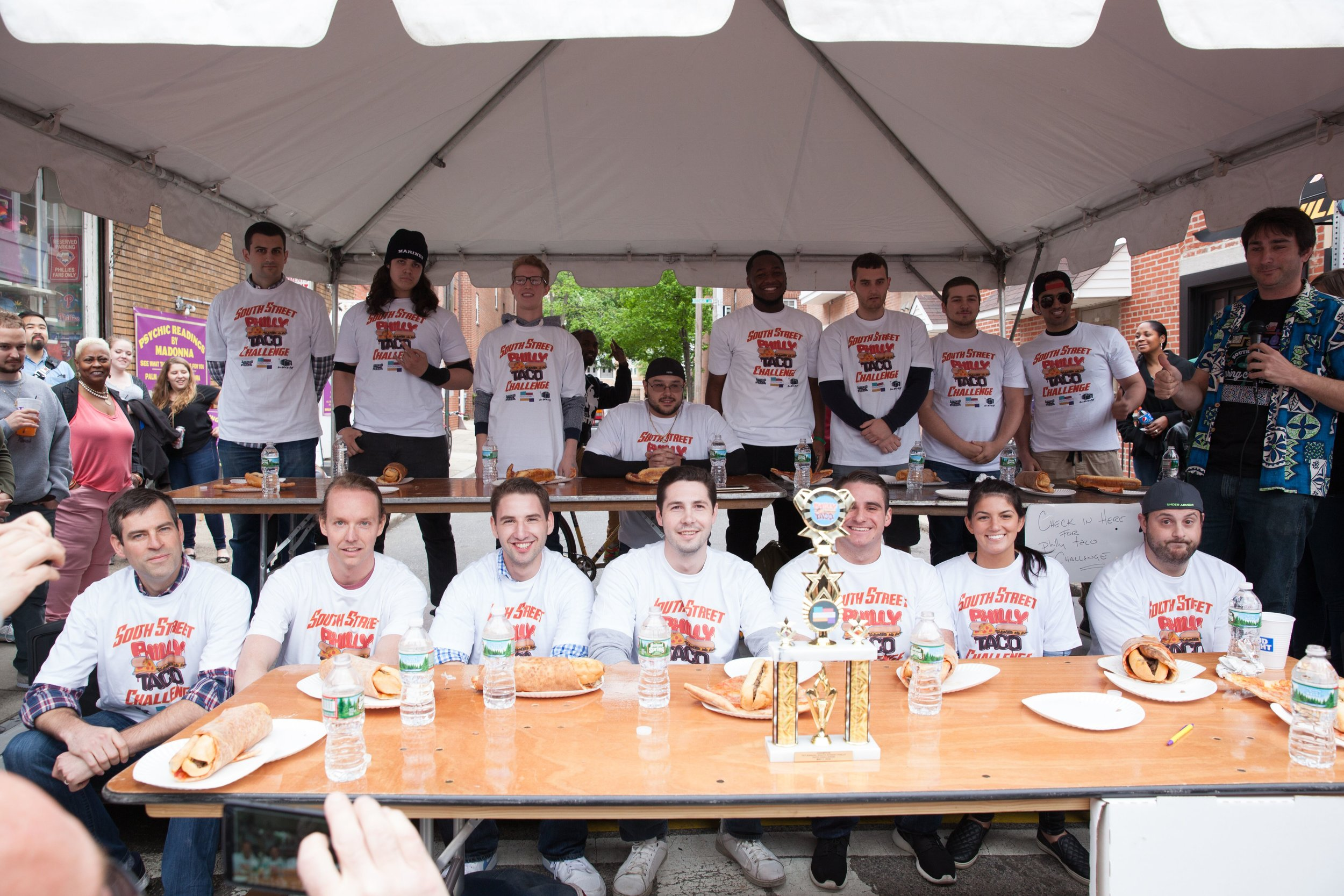 Philly Taco Eating Contest at South Street Spring Festival 2018