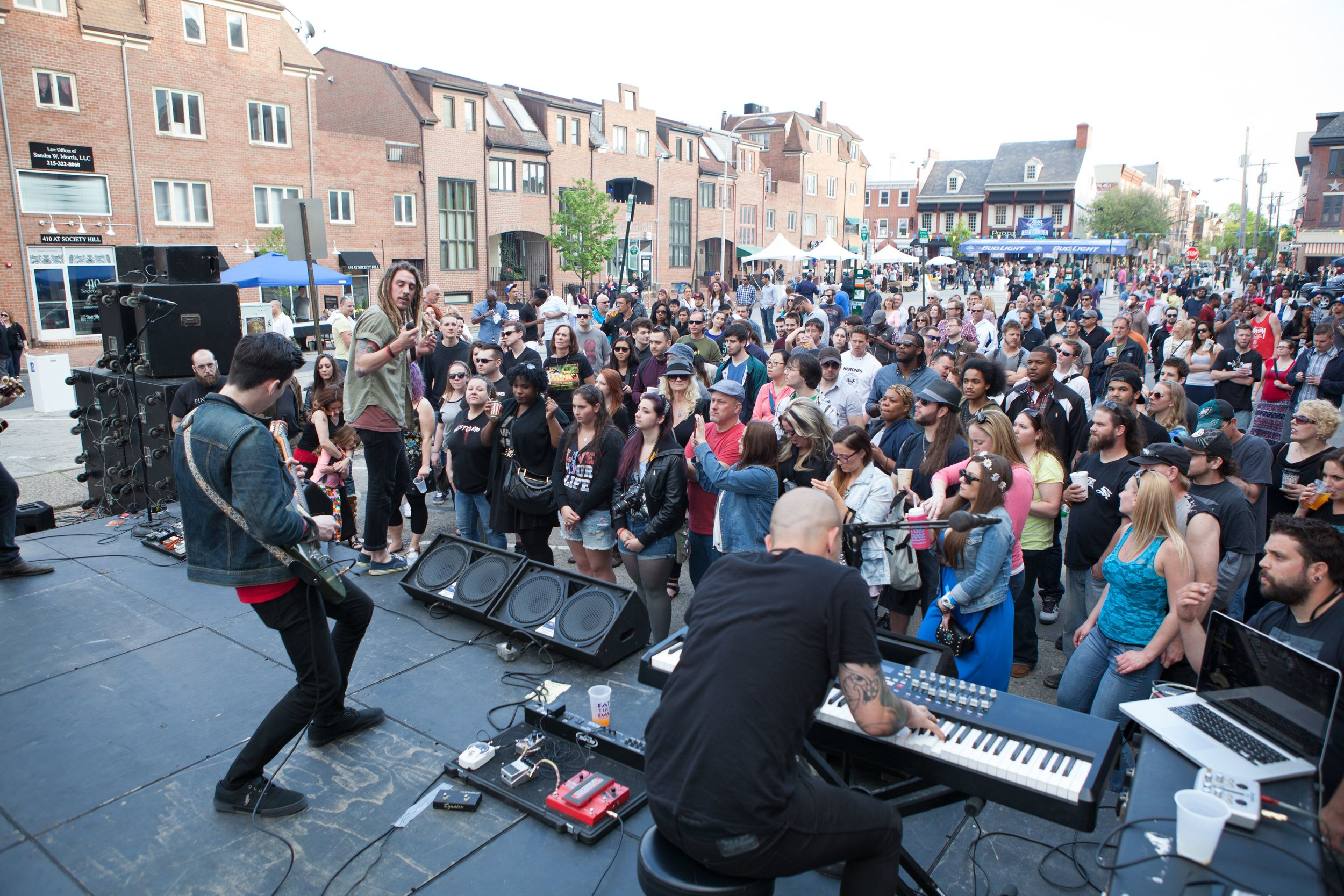 Live Music at South Street Spring Festival 2018
