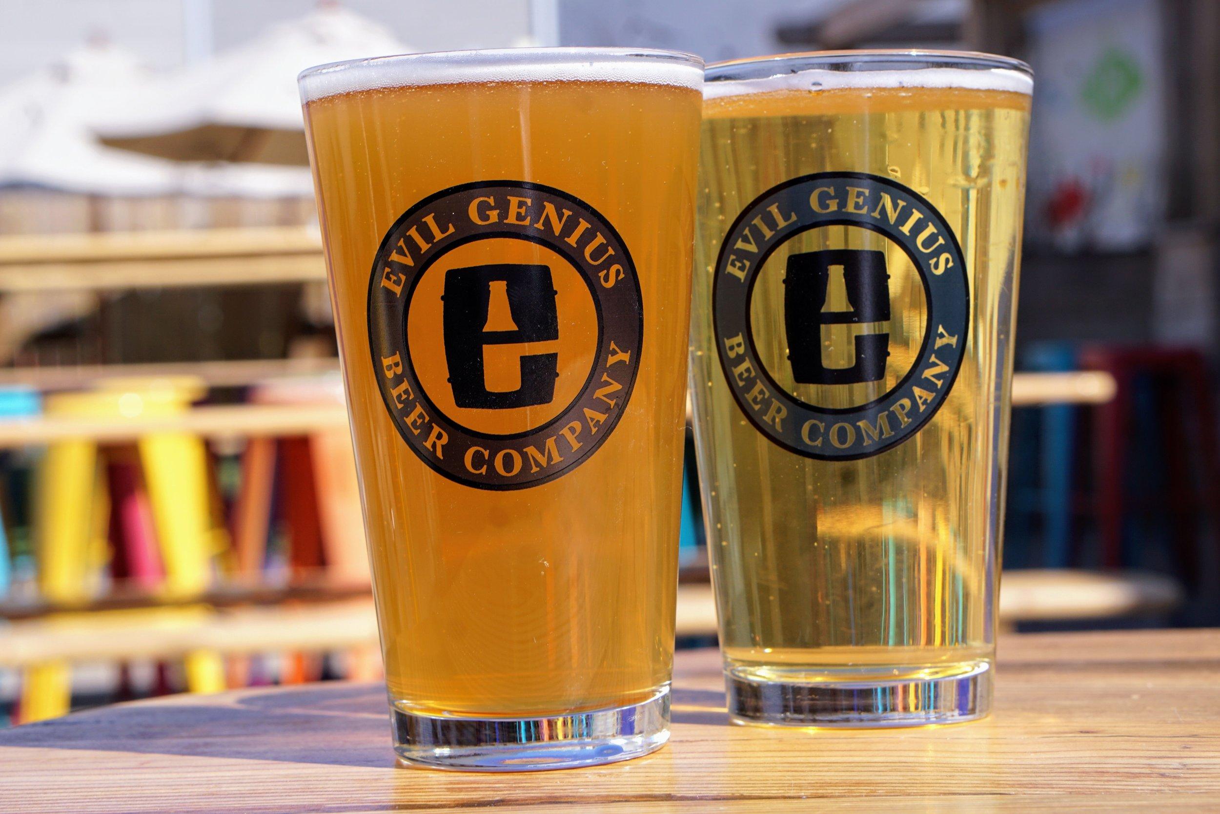 Evil Genius Beer Garden