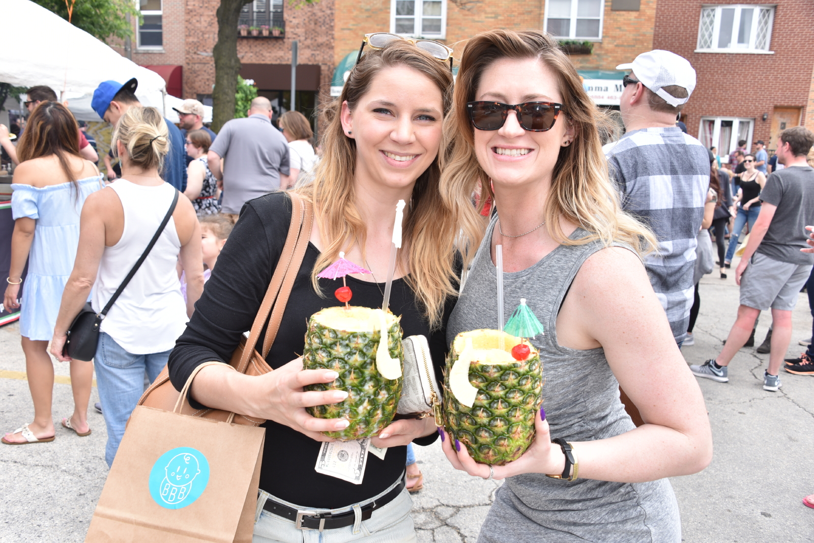 Pina Coladas at Flavors on the Avenue 2018