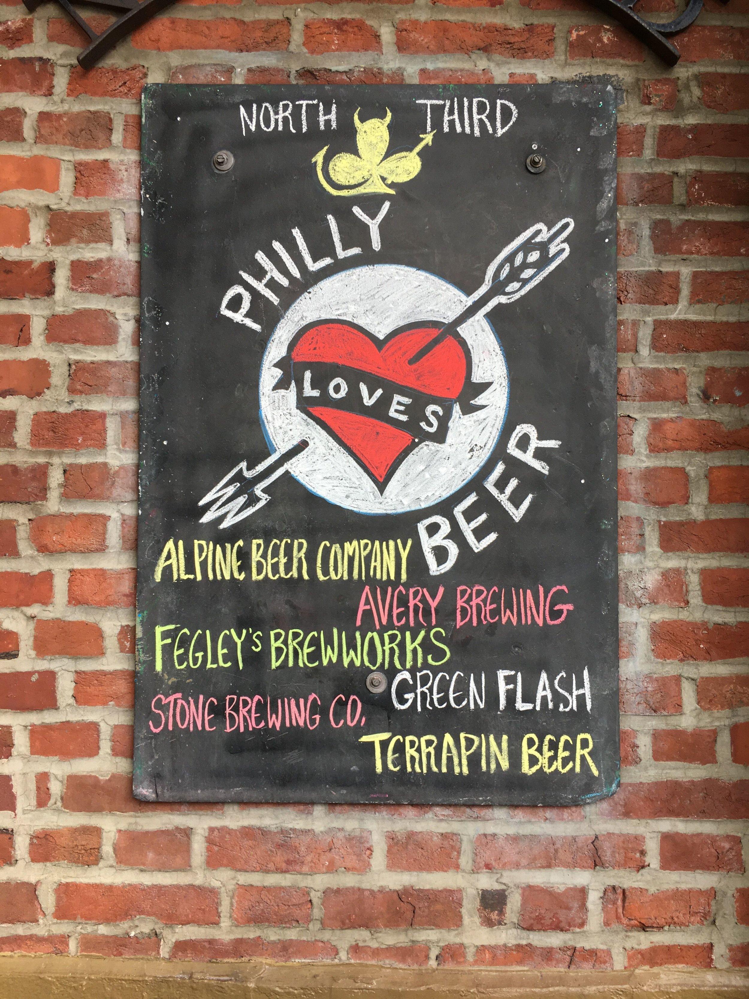 Philly Beer Week Signage