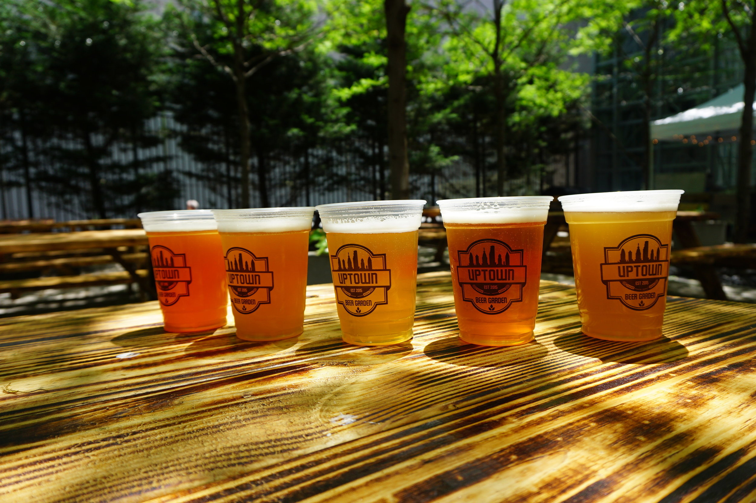 Uptown Beer Garden Five Year Anniversary Exclusive Beers