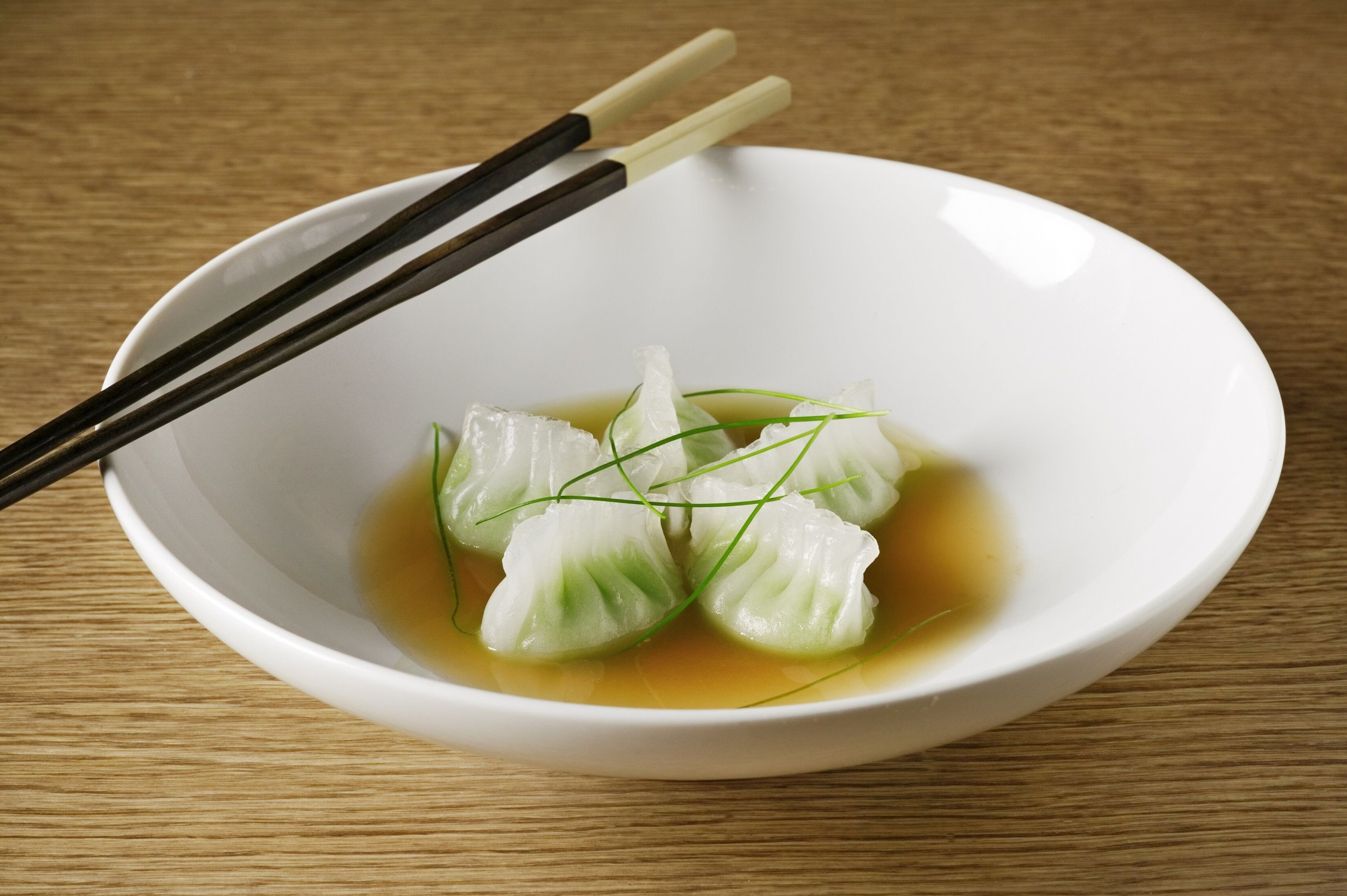 Edamame Dumplings, Dim Sum House