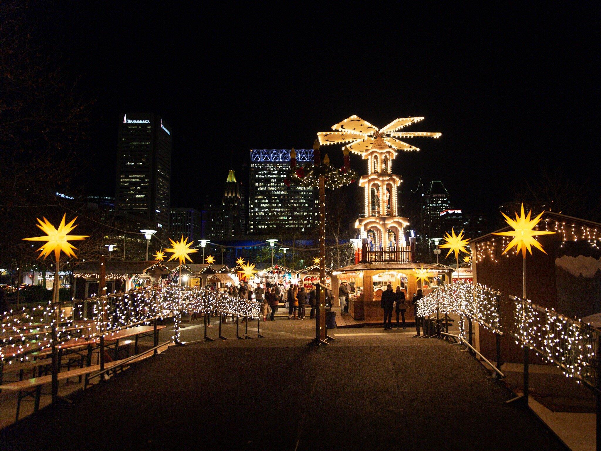 Baltimore Christmas 2021 Christmas Village In Baltimore Postpones In Person Season At Inner Harbor Until 2021 Aversa Pr Events Philadelphia Public Relations