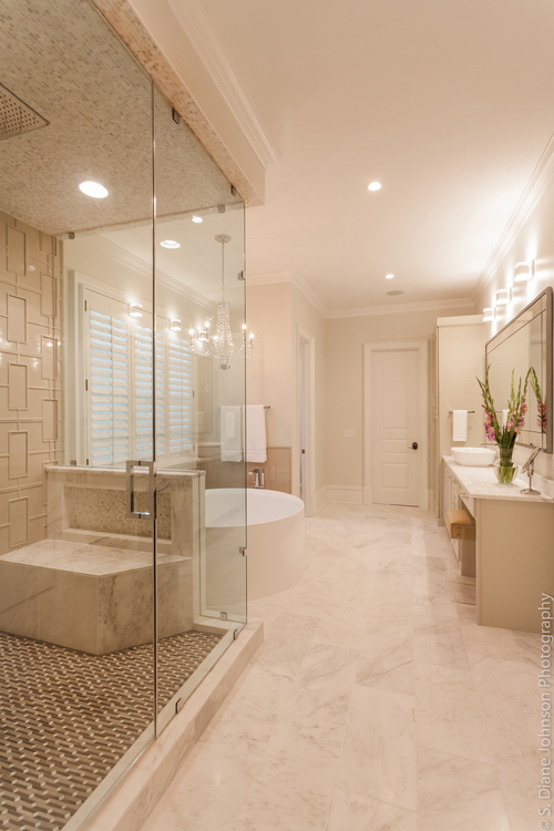 Club Drive Master Bath Design, Master Bedroom & Guest Bedroom ...