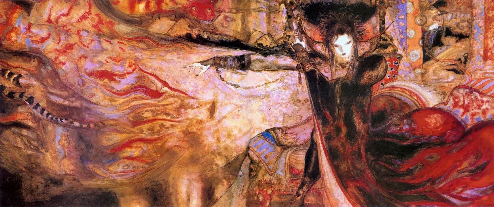 Yoshitaka Amano's interpretation of Morpheus.