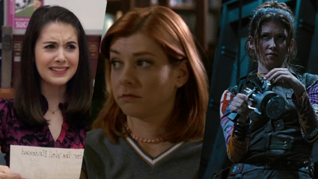 Examples: Annie Edison,   Community  ; Willow Rosenberg,   Buffy the Vampire Slayer ;  Kaylee,   Firefly