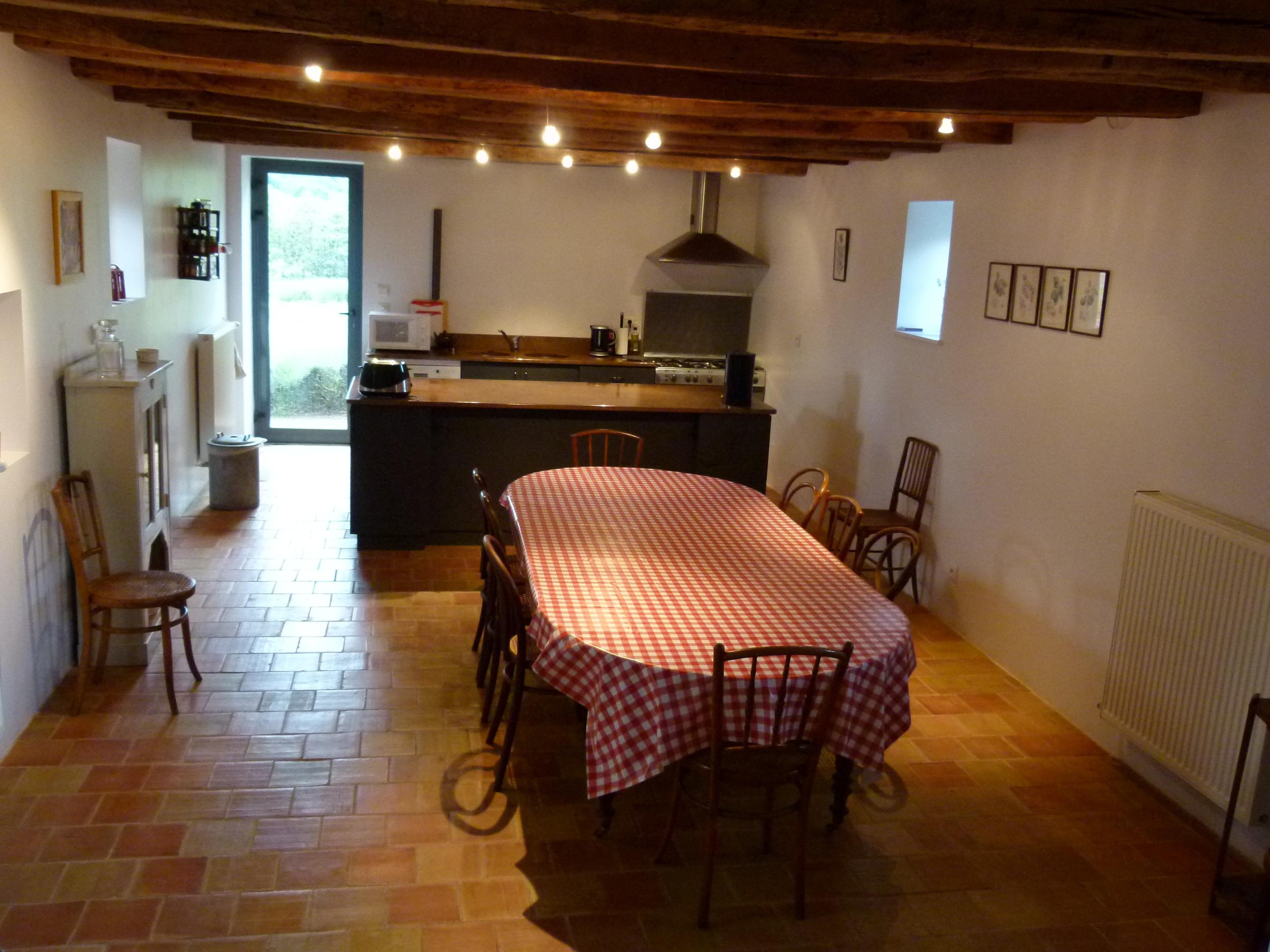 The kitchen at La Roche