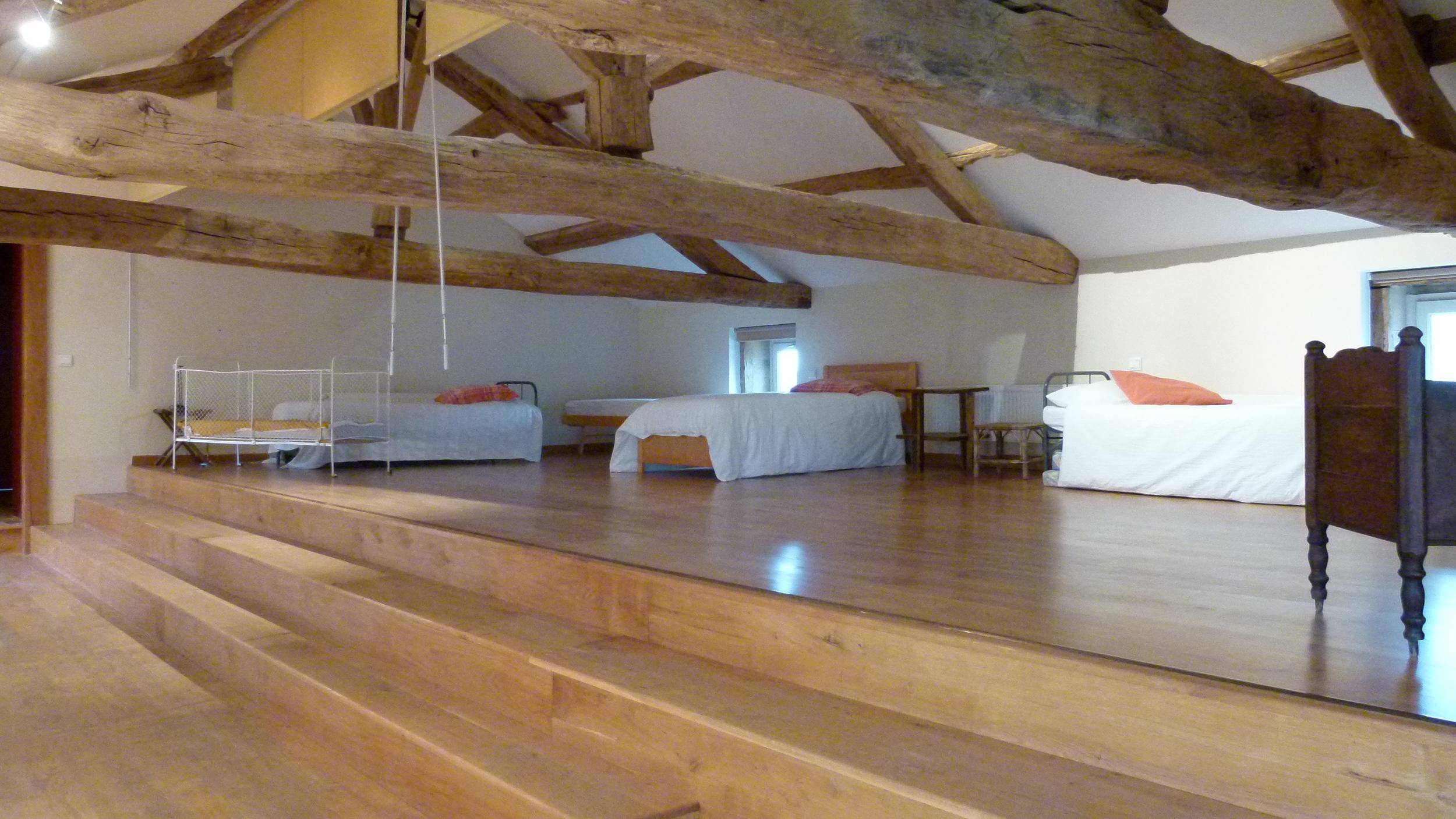La Roche - the mezzanine