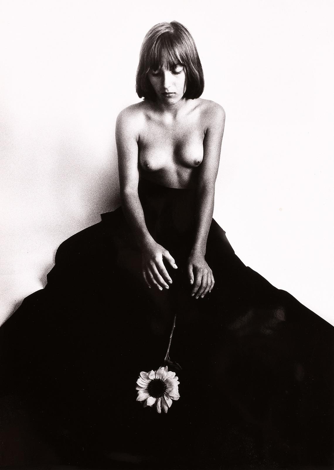 František_Dostál-Girl_with_Sunflower-1976-giampixxx.jpg