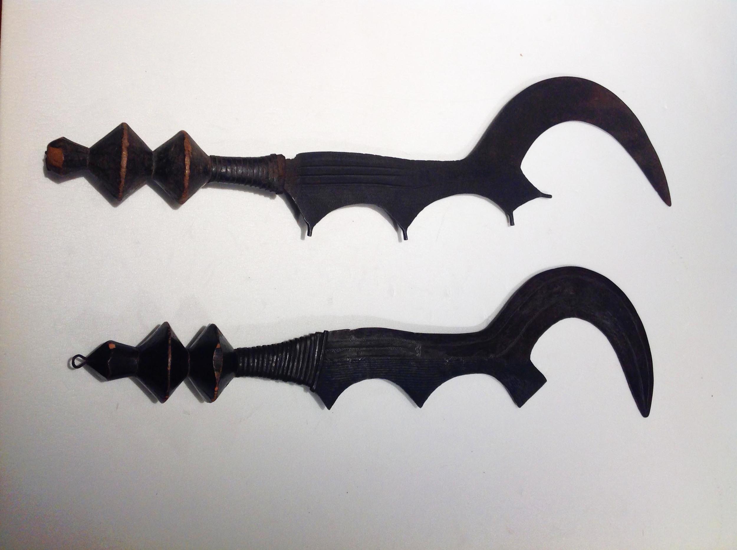 Ngala execution swords