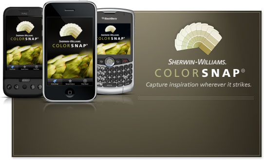Click to visit Sherwin Williams online color tools