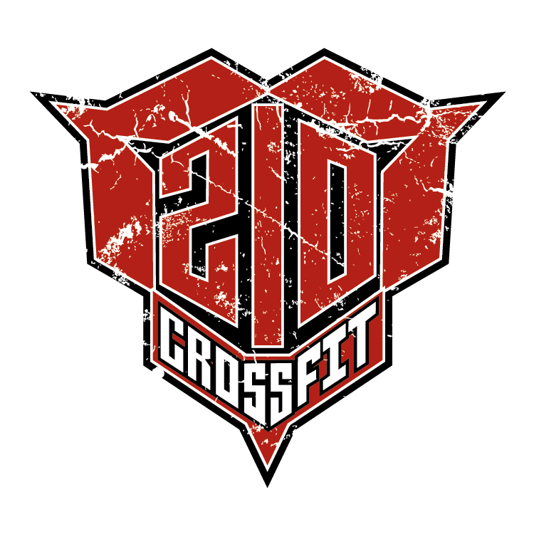 The previous 210 CrossFit logo.
