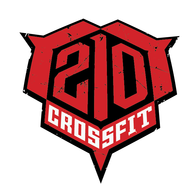 The newly updated logo for 210 CrossFit.