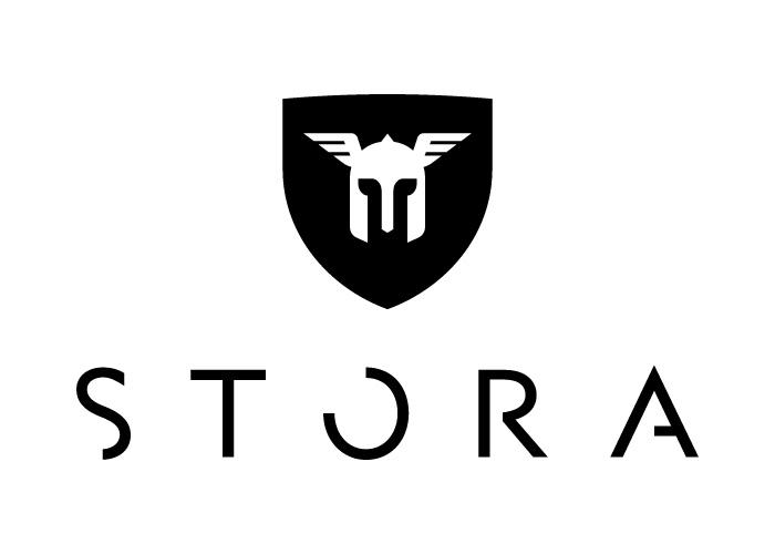The final iteration of the Stora logo in all its glory.