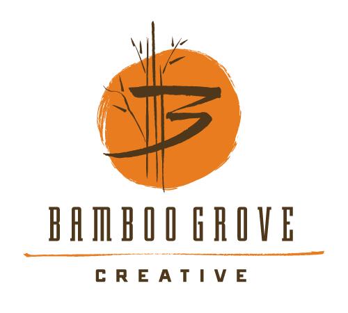 The final Bamboo Grove Creative logo. Ta-dah!