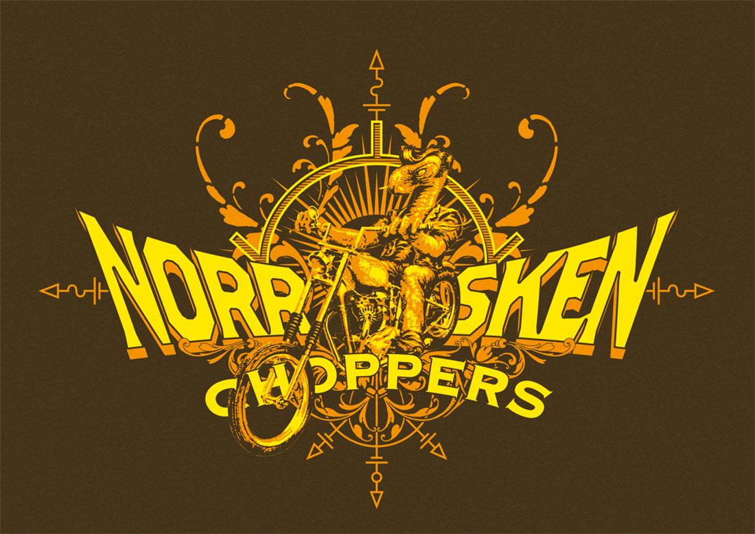 Norrsken Choppers t-shirt, 2011