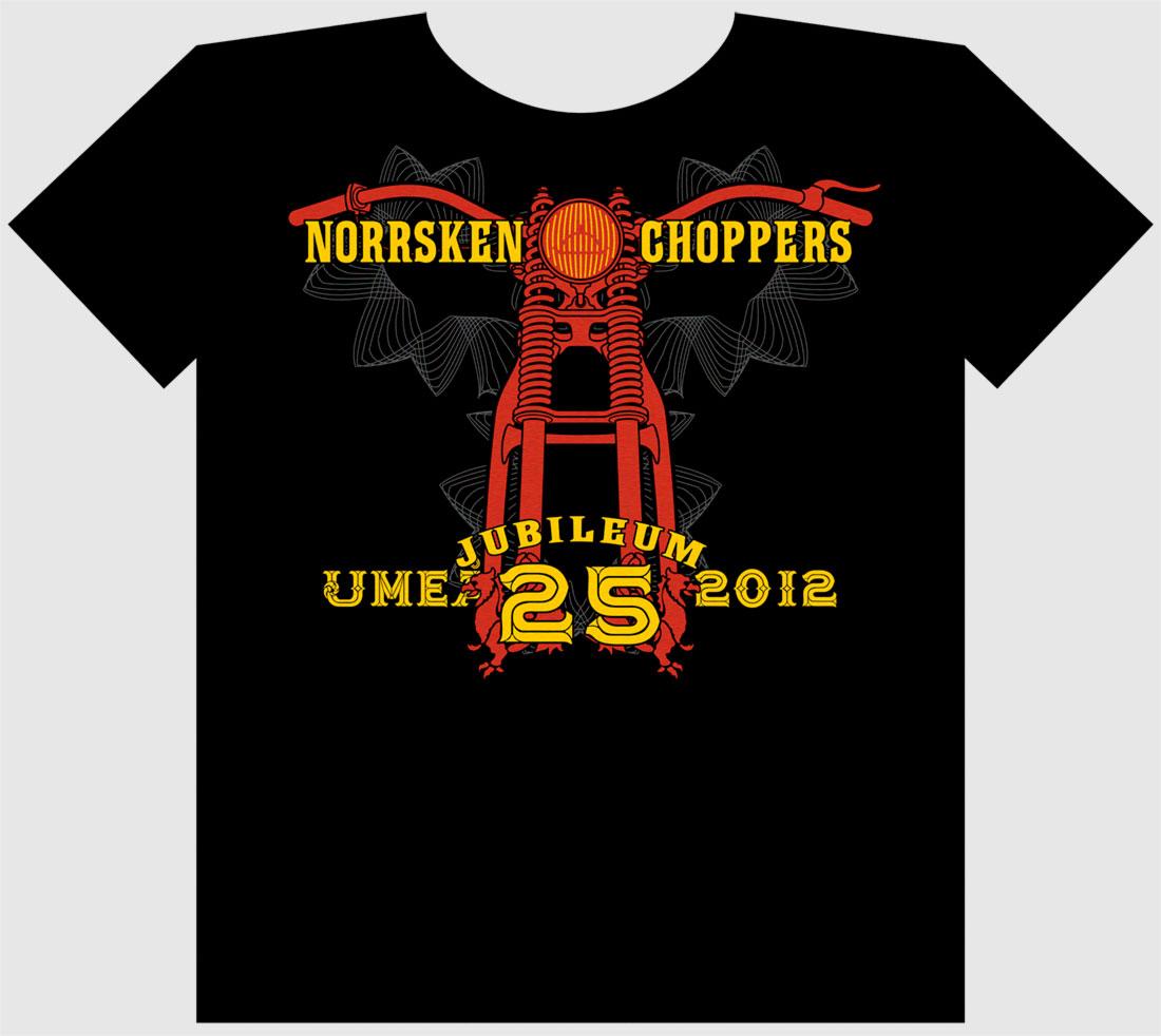 Norrsken Choppers t-shirt, 2012