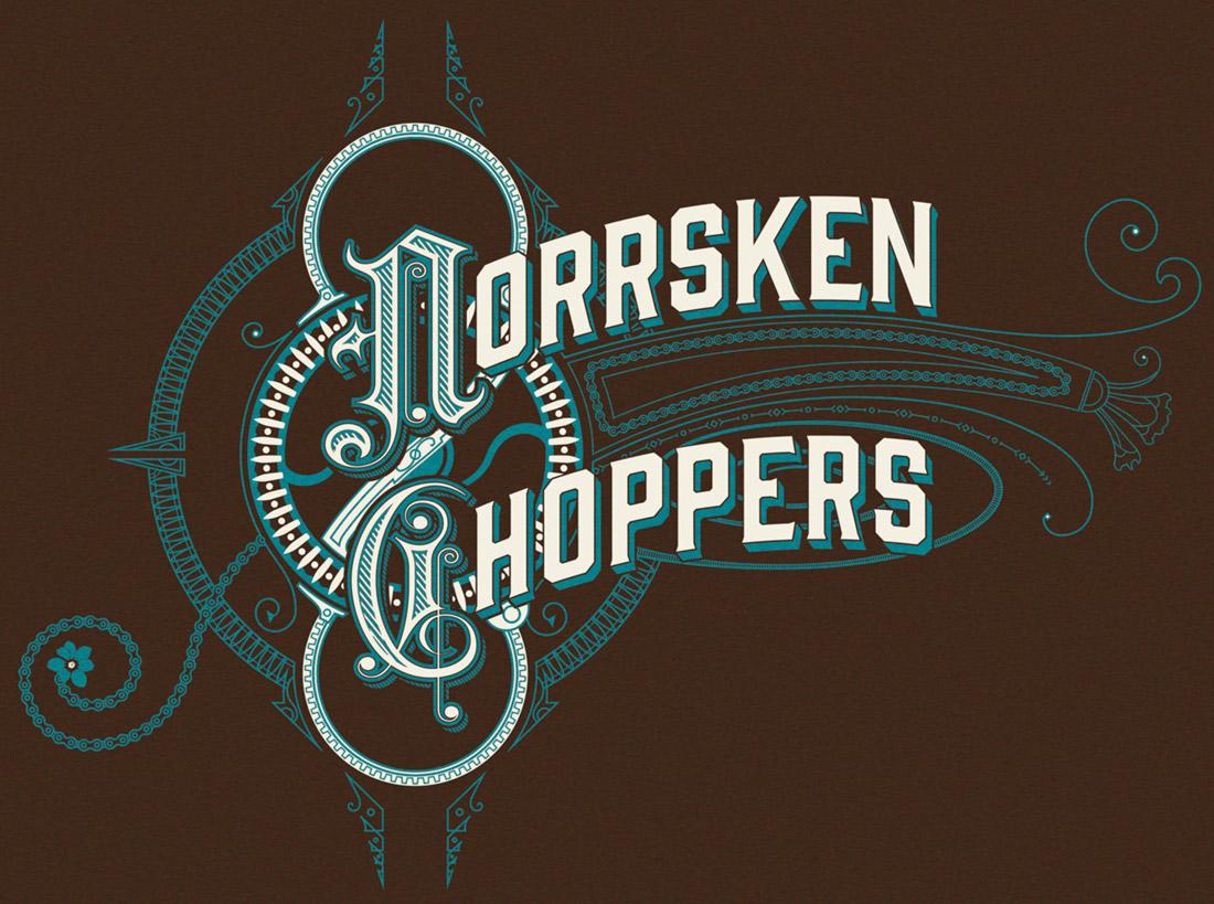 Norrsken Choppers t-shirt, 2013