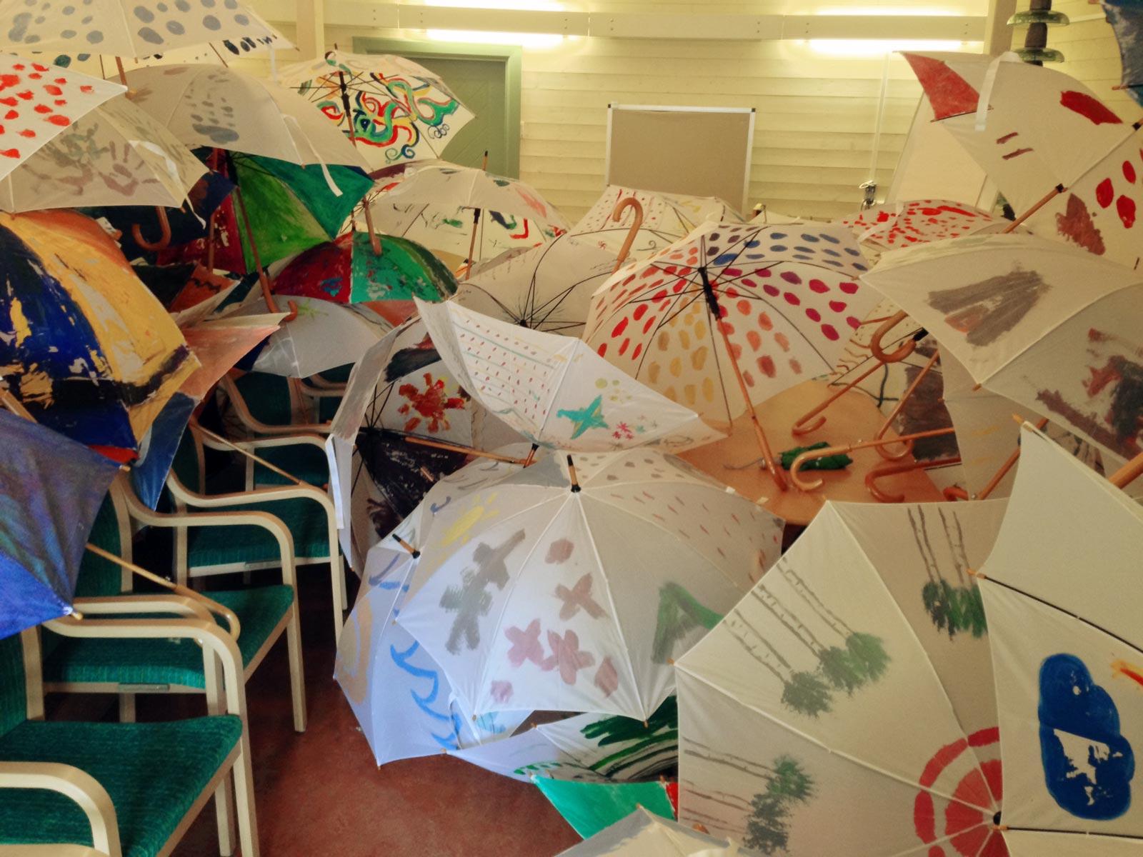 Behöver du paraplyer? Vi har paraplyer.