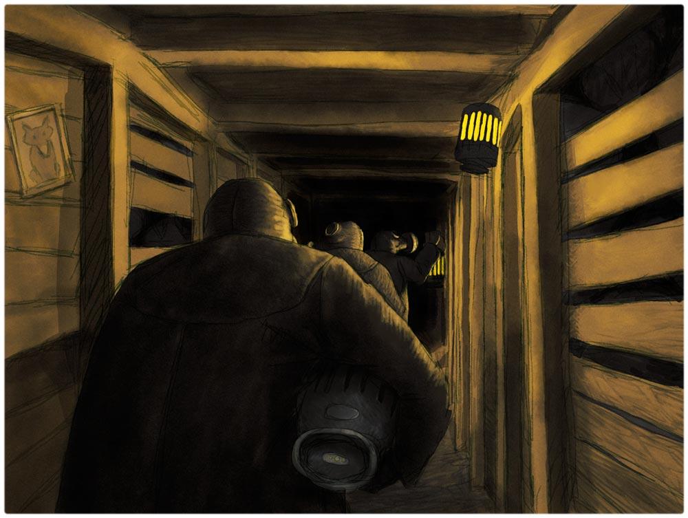 Kufar i gruvan