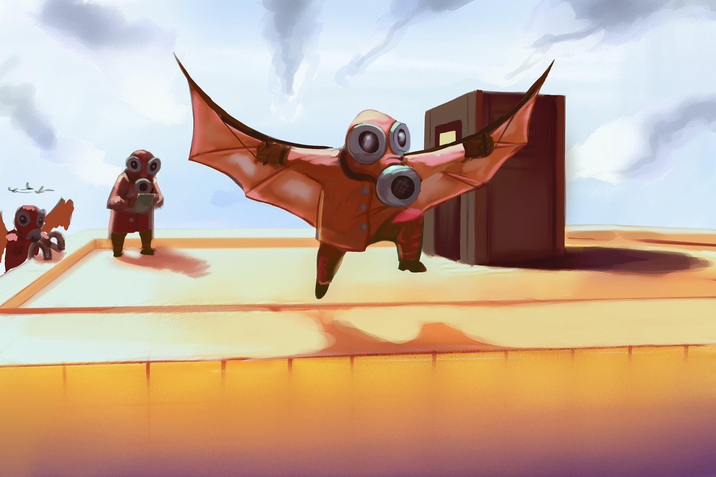 Kufar – Flying test
