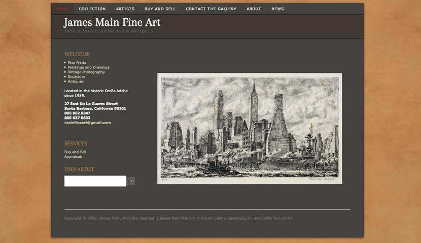 James Main Fine Art