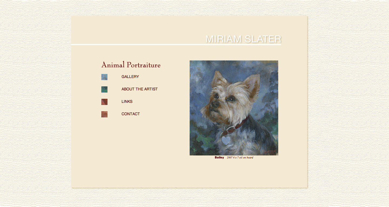 Miriam Slater Dog Portraits
