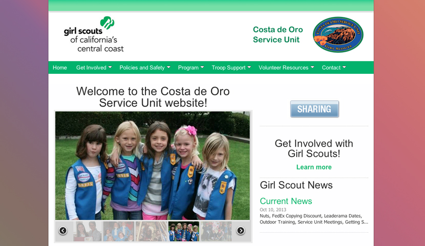 Girls Scouts of California's Central Coast