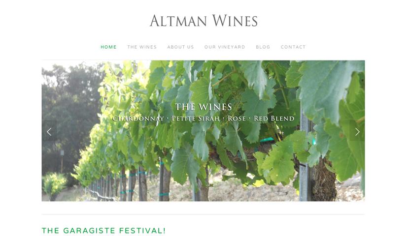 Altman Wines